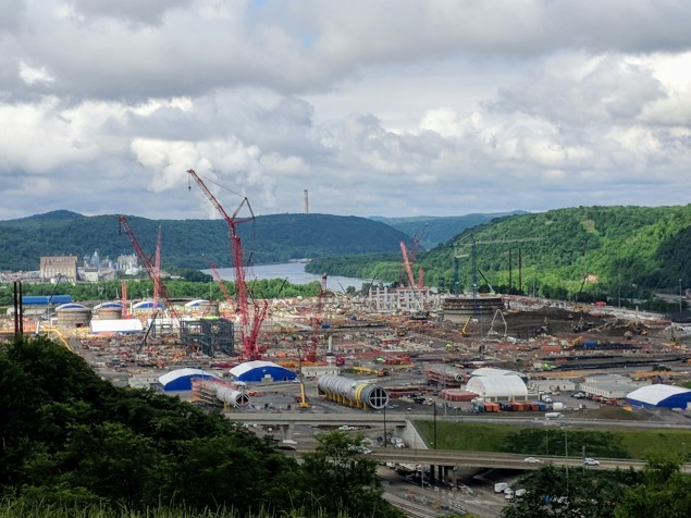 Largest industrial project in Pennsylvania in nearly 50 years.